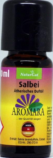 AROMARA Ätherisches Duftöl Salbei Salbeiöl / Salvia lavandulifolia 10 ml