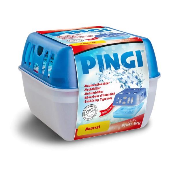 Pingi Profi-Dry Neutral Raumentfeuchter 450g Dehumidifier Luftentfeuchter