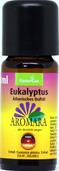 AROMARA Ätherisches Duftöl Eukalyptus Eukalyptusöl / Eucalyptus globulus 10 ml