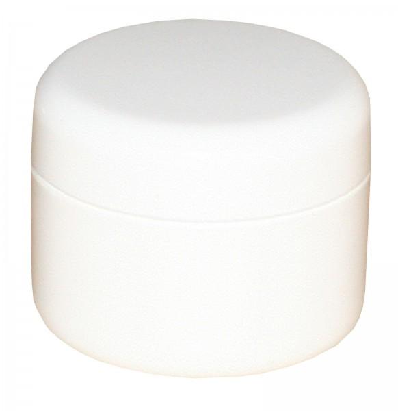 Cremedose - Runddose mit Verschluß 5 ml weiss 10 Stk.