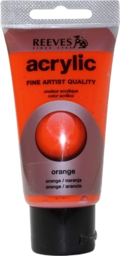 Reeves Acryl 75ml Orange