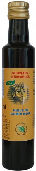 Bio Schwarzkümmelöl Nigella Sativa Ägypten 250 ml kaltgepresst pur naturrein