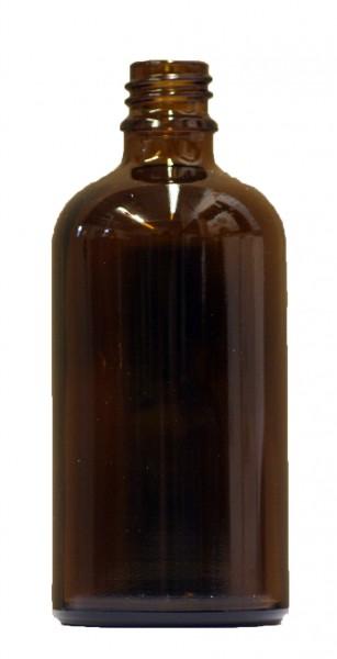 10 x 100ml Braunglasflasche mit Sprühkopf und Schutzkappe