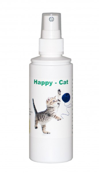 Happy Cat - Raumduft für Katzen 100ml Spray