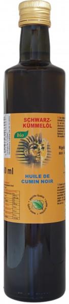 Bio Schwarzkümmelöl Nigella Sativa Ägypten 500ml kaltgepresst pur naturrein