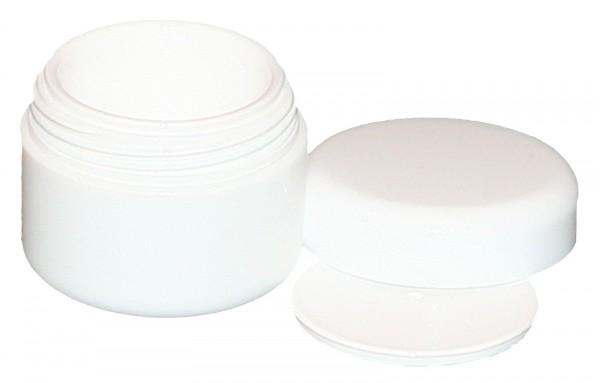 Cremedose - Runddose mit Verschluß 5 ml weiss 20 Stk.